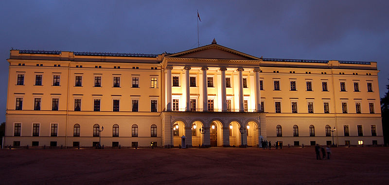 Det_Kongelige_Slott_by_night