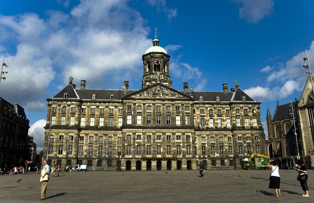 dam square in Amsterdam