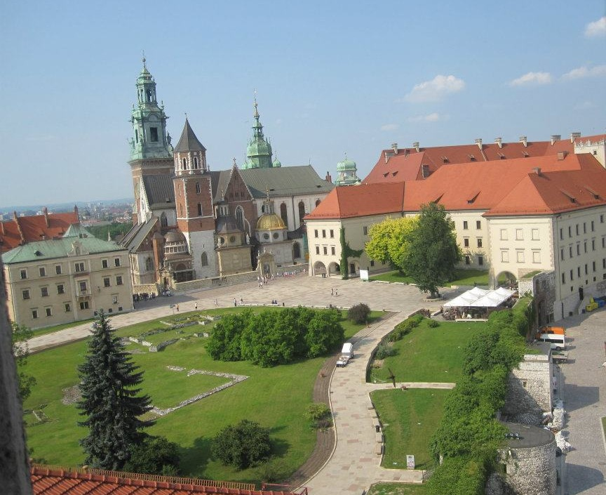 Wawel-Castle-in-Krakow-Poland