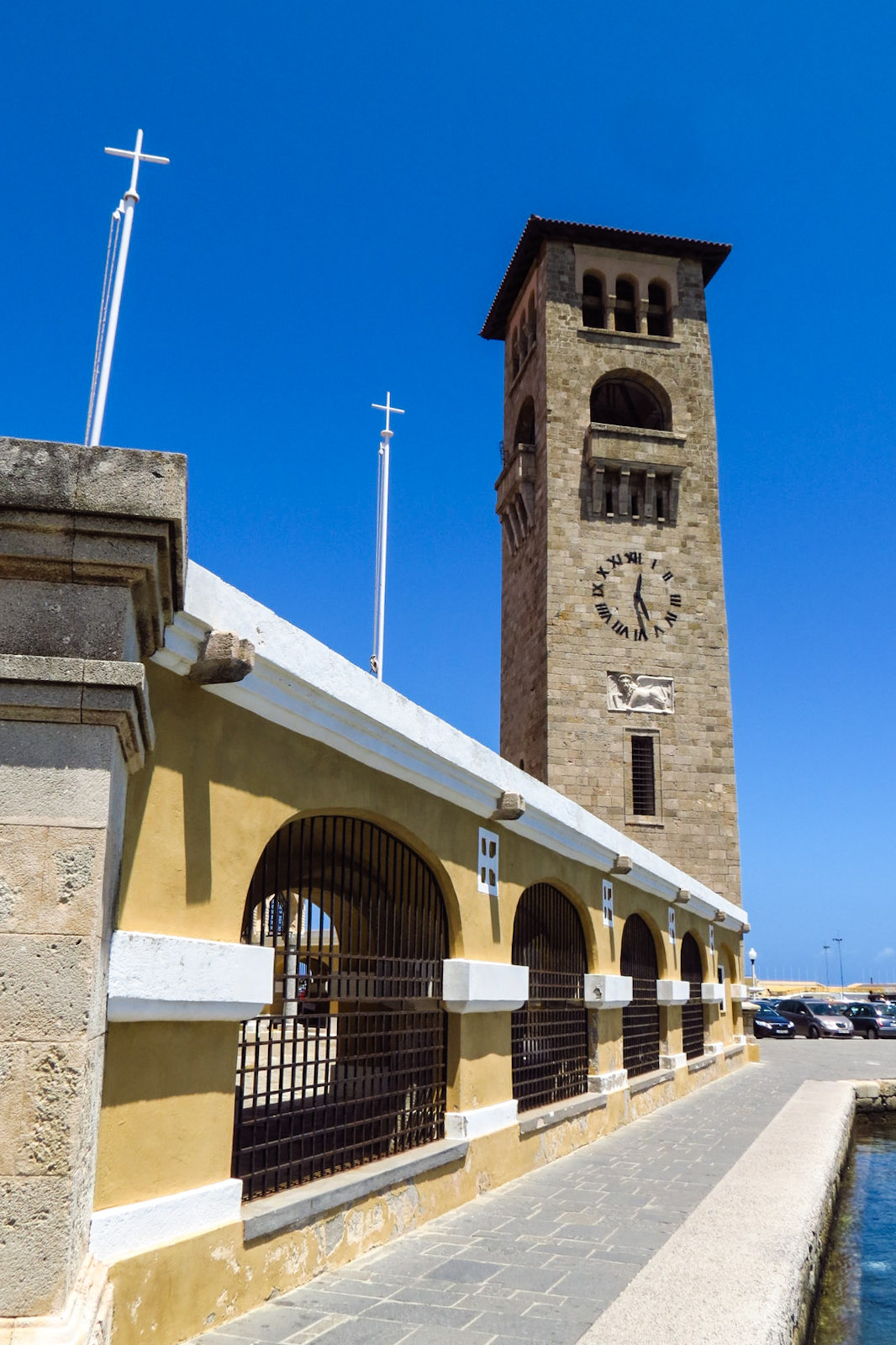 rhodes-harbour-clock-tower