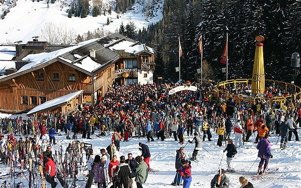 Ski resort St. Anton
