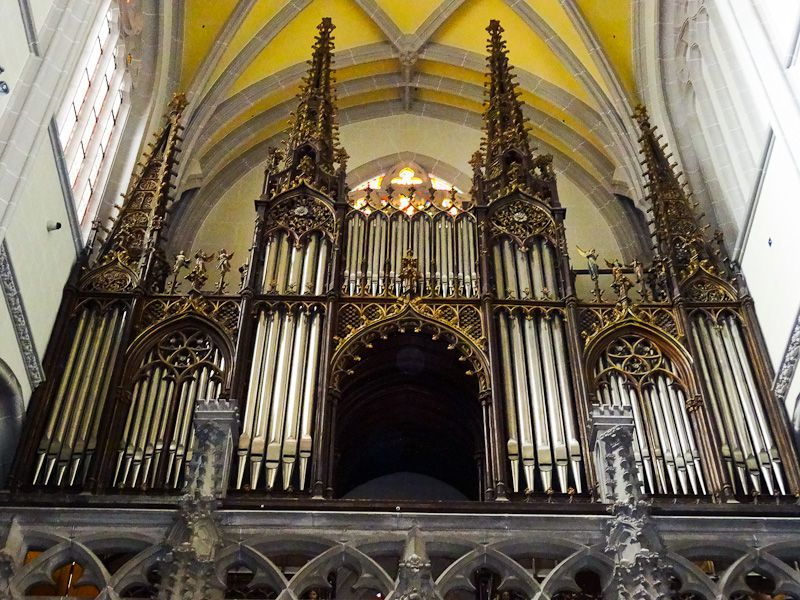 St. Elisabeth Cathedral of the Hungarian organ