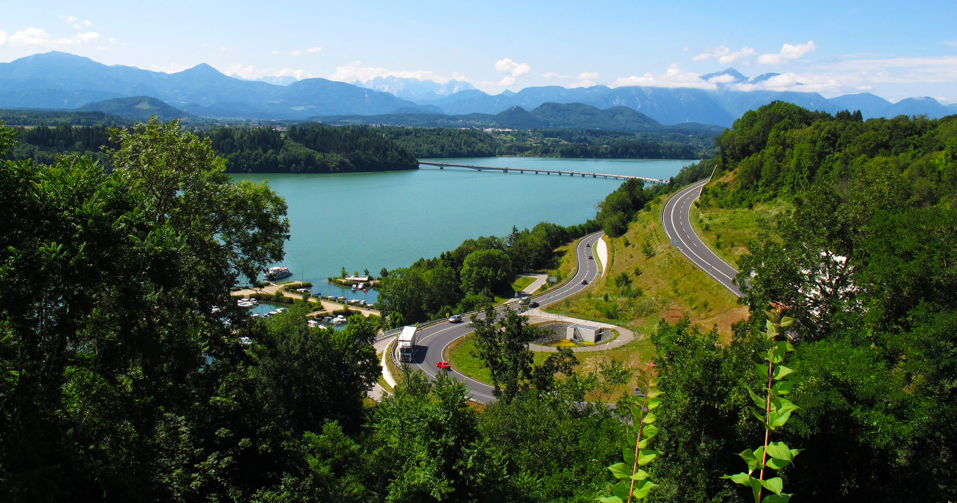 World___Austria_The_road_from_the_shores_of_Lake_Klopeiner_See__Austria_070083_