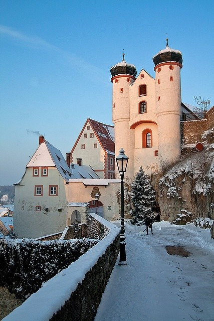Winter-Sunset-Parsberg-Castle-Germany
