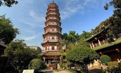Religious-Sanctuaries-in-Guangzhou-Temple-of-the-Six-Banyan-Trees-Liurong-Temple
