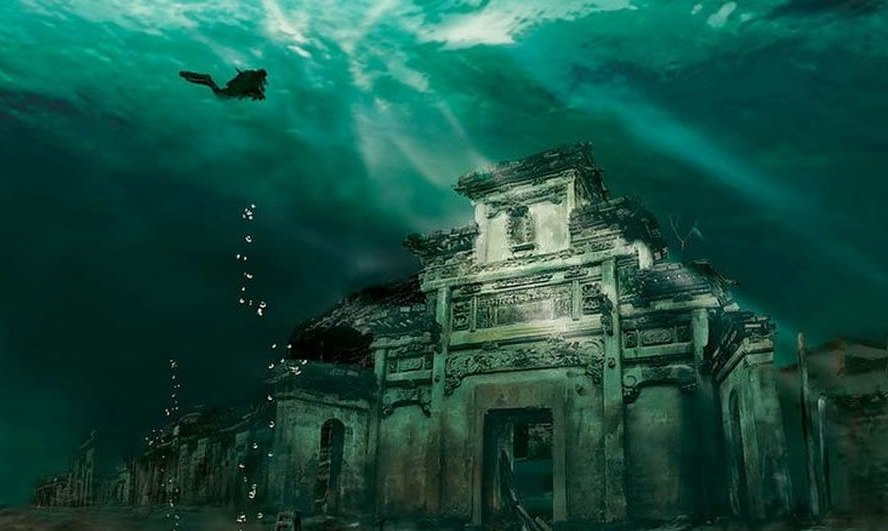 Submerged-Shi-cheng-underwater-exploration-of-lost-ancient-Lion-City-
